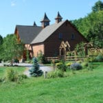 The barn at Wegmans Organic Farm in Canandaigua  PHOTO/Edible Buffalo