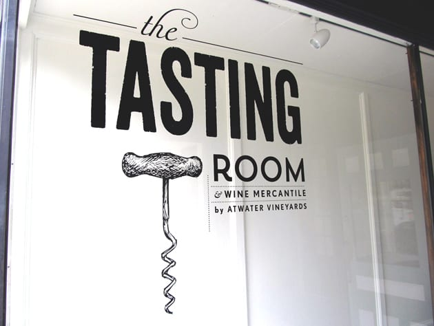 The Tasting Room is now open in Watkins Glen, courtesy of Atwater Vineyards.