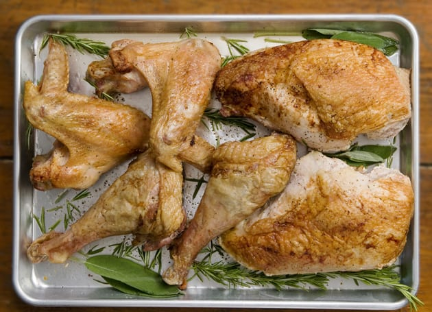 Sheetpan Roasted Turkey PHOTO/Robyn Wishna